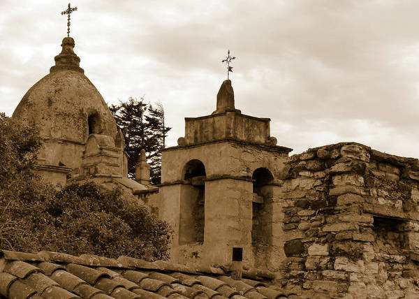 Photograph - Carmel Mission by Jeff Lowe