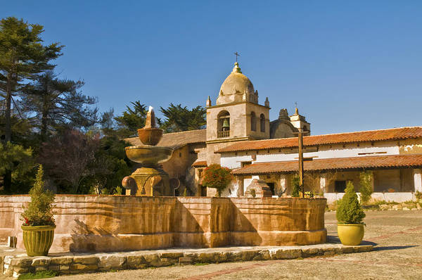 Photograph - Carmel Mission by Mick Burkey