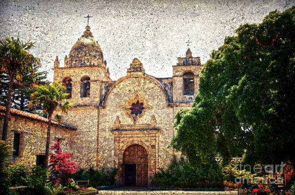 Carmel Mission Photograph - Carmel Mission by RicardMN Photography
