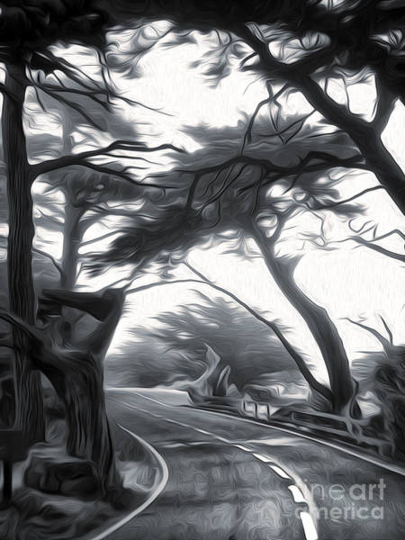 Painting - Carmel - Seventeen Mile Drive - 01 by Gregory Dyer