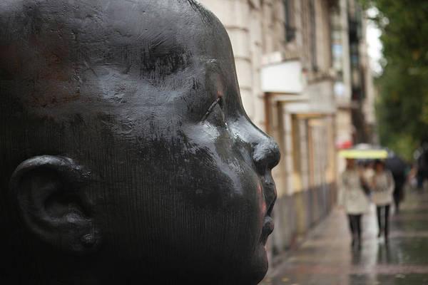 Bilbao Photograph - Carmen Awake Street Sculpture by Panoramic Images