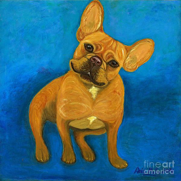 Painting - Carmen French Bulldog by Ania M Milo