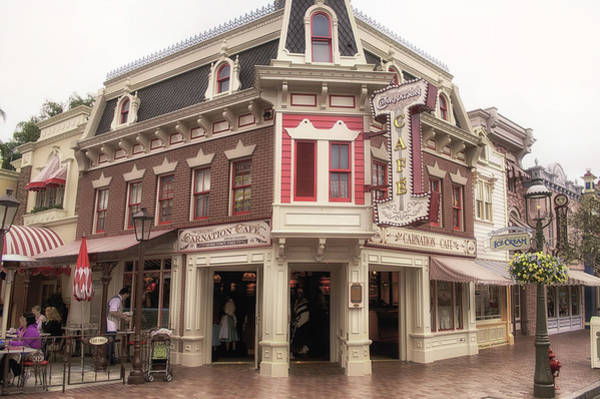 Clothier Photograph - Carnation Cafe Main Street Disneyland 02 by Thomas Woolworth