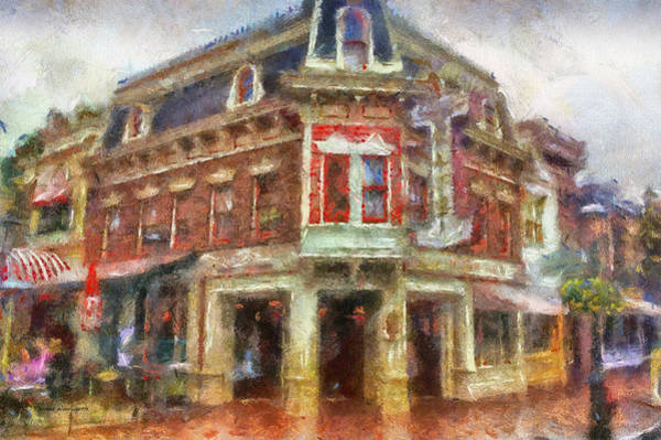 Clothier Photograph - Carnation Cafe Main Street Disneyland Photo Art 02 by Thomas Woolworth