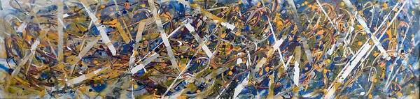 Trapeze Painting - Carneval by Felix Concepcion