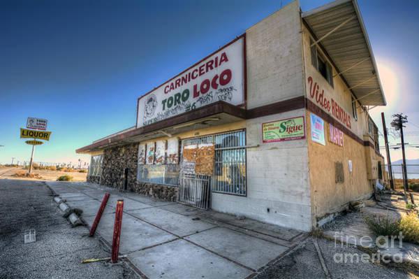 Photograph - Carniceria Toro Loco by Eddie Yerkish