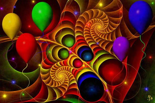 Crochet Digital Art - Carnival by Brandi Elaine Crochet