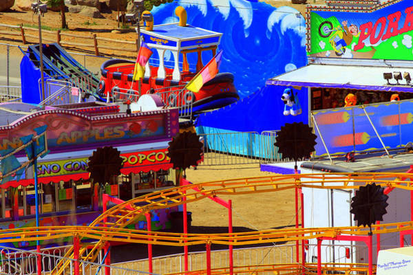 Norco Photograph - Carnival Color Concessions by Randall Thomas Stone