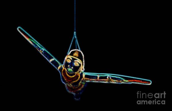 Digital Art - Carnival - Flying Lady by Kathi Shotwell