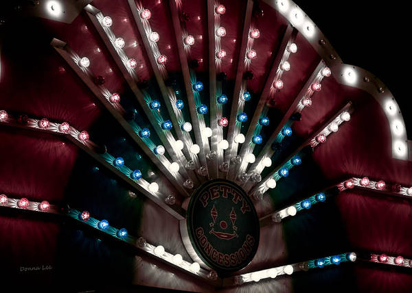 Carnival Lights Art Print