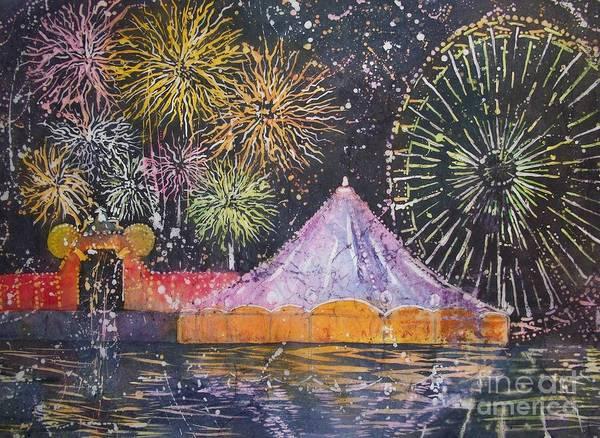 Painting - Carnival Magic by Carol Losinski Naylor