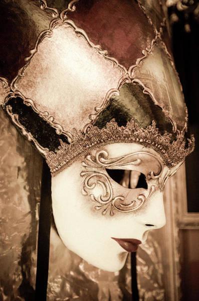 Wall Art - Photograph - Carnival Mask, Venice, Veneto, Italy by Russ Bishop