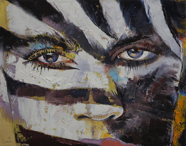 Mask Painting - Carnival by Michael Creese