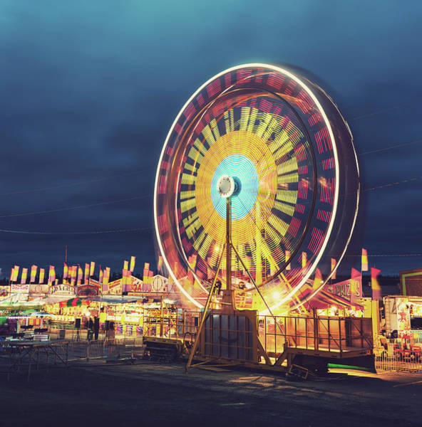 Gulf State Park Photograph - Carnival Night by Shaunl