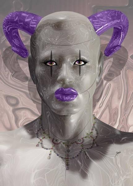 Dummy Digital Art - Carnival Of Robotic Dionysus by Quim Abella