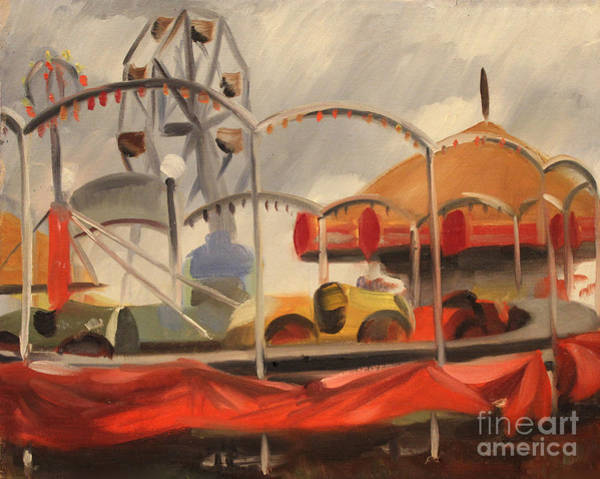 Painting - Carnival On Cicero Ave. 1939 by Art By Tolpo Collection