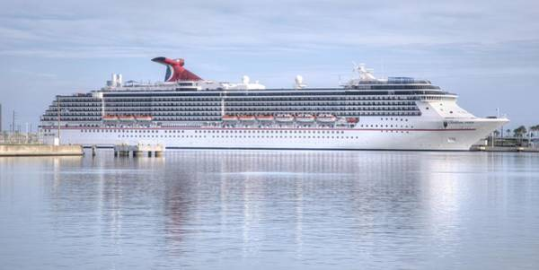 Photograph - Carnival Pride At Port by Bradford Martin