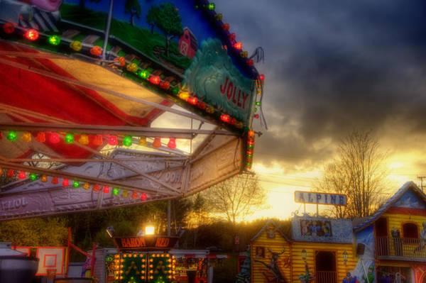 Photograph - Carnival Ride - Carousel by Joann Vitali