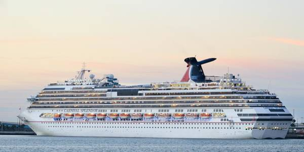 Photograph - Carnival Splendor At Dusk by Bradford Martin