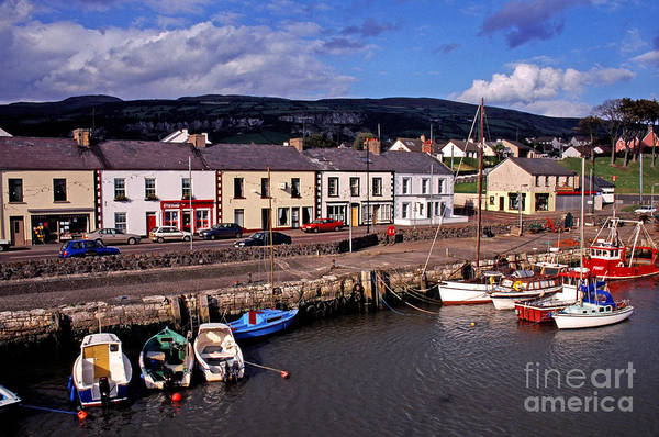 Photograph - Carnlough Harbour by Thomas R Fletcher