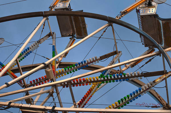 Photograph - Carny Ride by Paulette B Wright