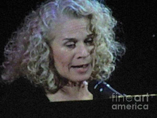 Carole King Photograph - Carole King by Christy Gendalia