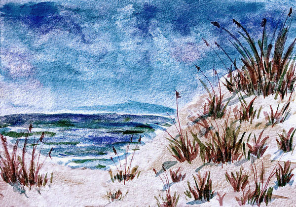 Painting - Carolina Beach Blues by Donna Proctor