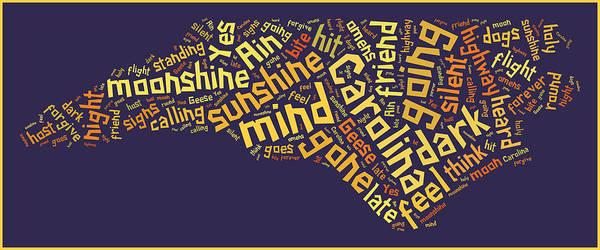 Digital Art - Carolina In My Mind 3 by Paulette B Wright