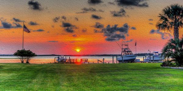 Photograph - Carolina Sunset by Dave Hahn