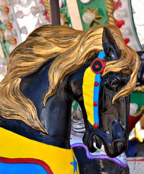 Carousal Horses - 2 Art Print