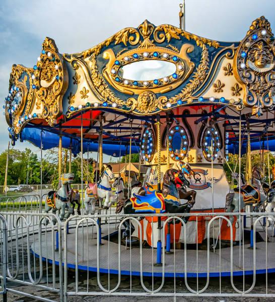 Carnies Photograph - Carousel 3 by Steve Harrington