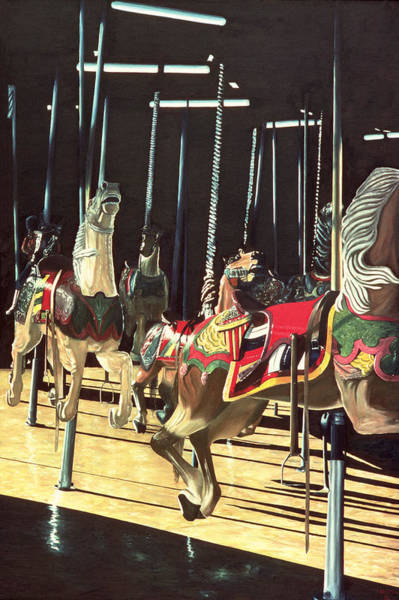 Fair Painting - Carousel by Anthony Butera