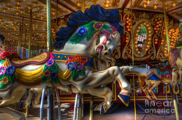 Wall Art - Photograph - Carousel Beauty Ready To Roll by Bob Christopher