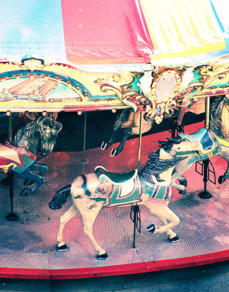 Carousel Digital Art - Carousel Horse by Suzanne Barber