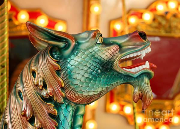 Photograph - Carousel Seahorse by Sabrina L Ryan