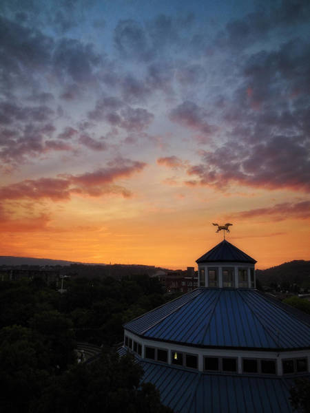 Photograph - Carousel Sunset 2 by George Taylor