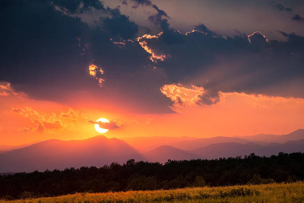 Photograph - Carpathian Sunset by Mihai Andritoiu