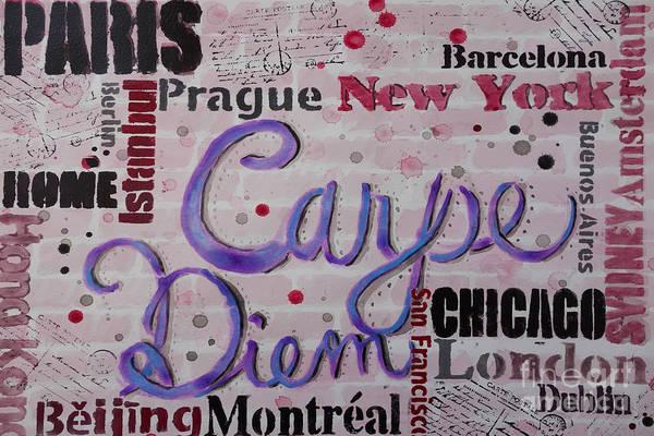 Painting - Carpe Diem by Jacqueline Athmann