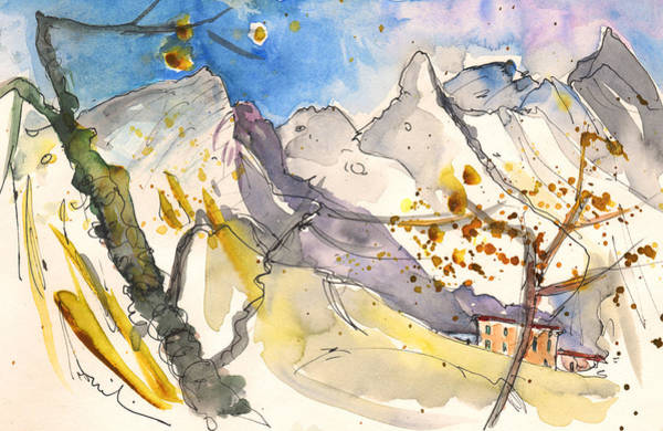 Painting - Carrara In Italy 01 by Miki De Goodaboom