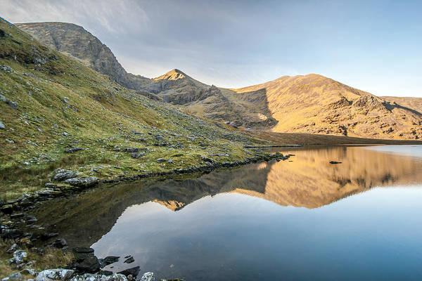 Photograph - Carrauntoohill Reflection Ireland by Pierre Leclerc Photography