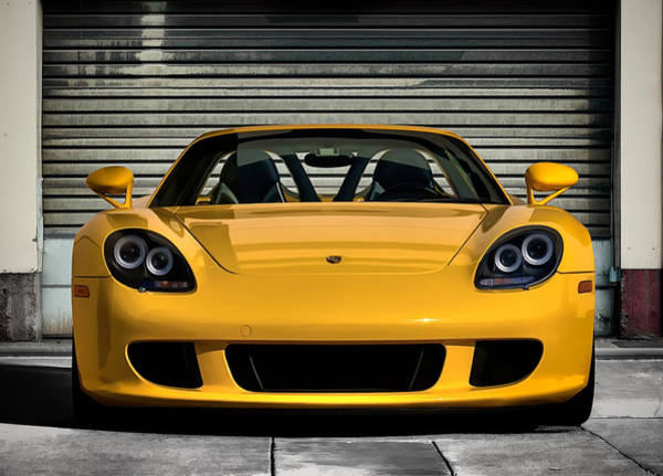 Roadster Wall Art - Digital Art - Porsche, Carrera Gt by Douglas Pittman