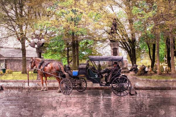 Carriage Rides Series 03 Art Print