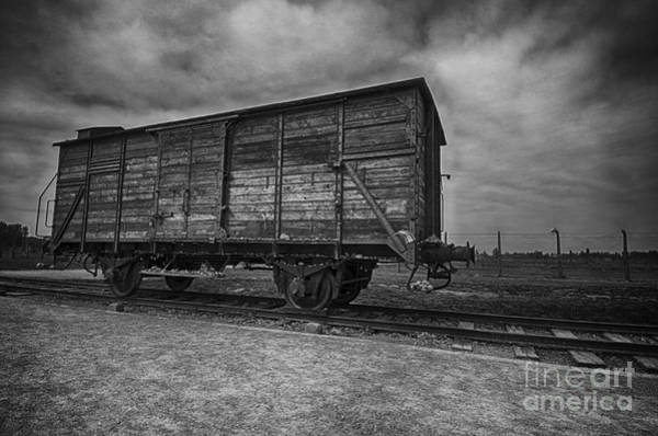 Holocaust Photograph - Carriage by Giovanni Chianese