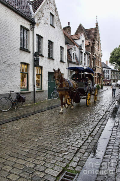 Photograph - Carriage Ride In Brugges by Crystal Nederman
