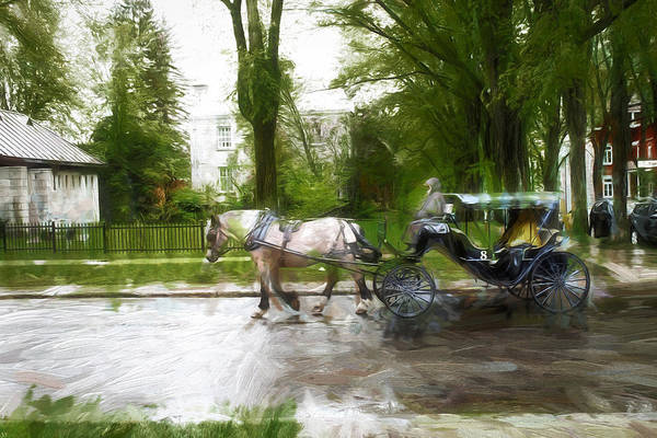 Photograph - Carriage Ride Series 14 by Carlos Diaz