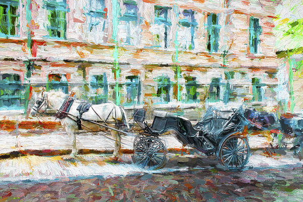Photograph - Carriage Series 12 by Carlos Diaz