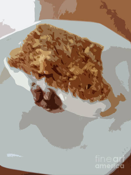 Cheese Cake Wall Art - Digital Art - Carrot Cake Yum by Carol Lynch