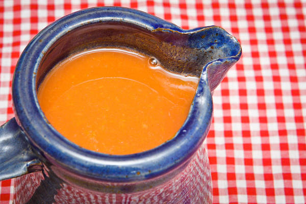 Clay Photograph - Carrot Juice by Tom Gowanlock