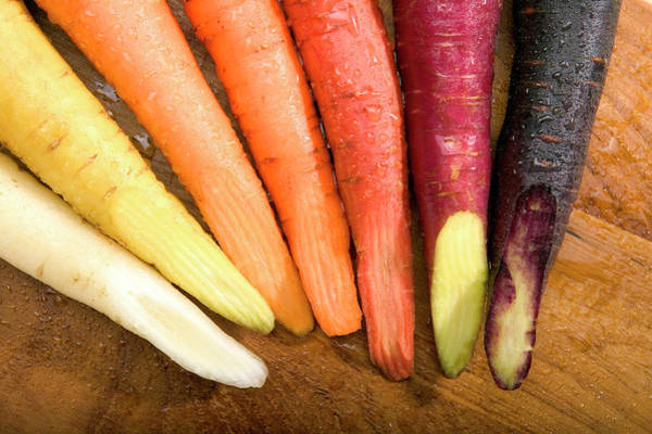 Wall Art - Photograph - Carrot Varieties by Stephen Ausmus/us Department Of Agriculture/ Science Photo Library