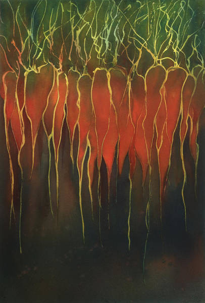 Painting - Carrots by Johanna Axelrod